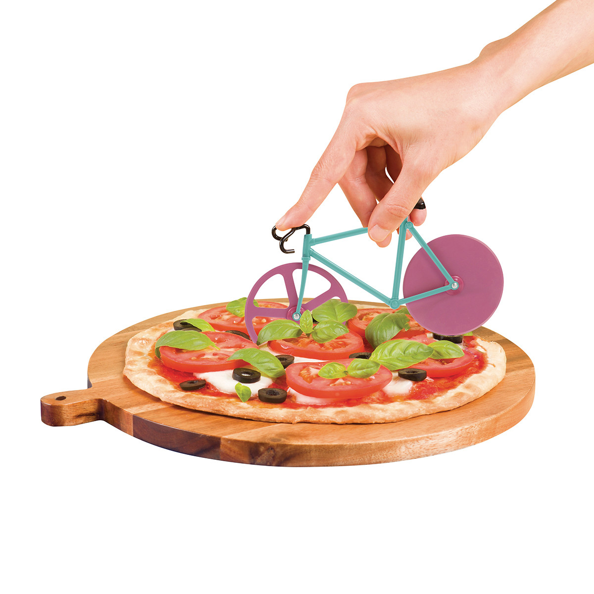 Pizza Cutter The Fixie Original Doiy Until